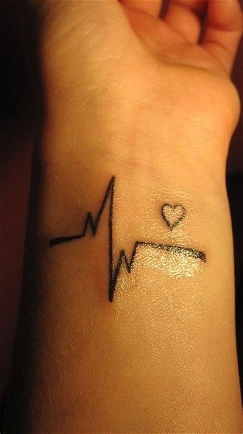 heartbeat tattoo designs on wrist wrist design www