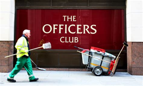 The Officers Club the officers club calls in the administrators business the guardian