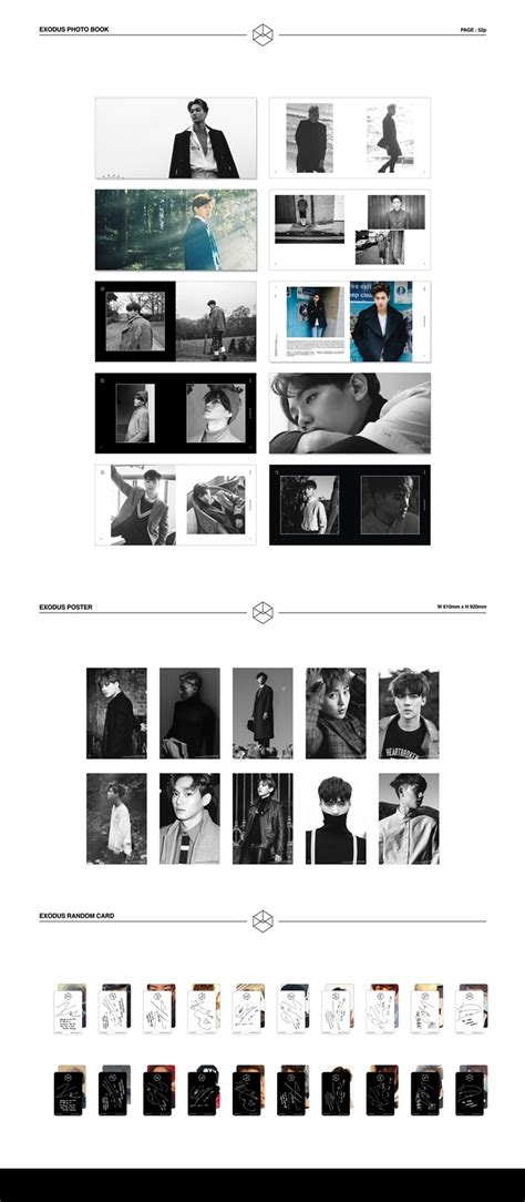 album exo the 2nd album exodus cd 1 korean version exo vol 2 exodus ver cd random version