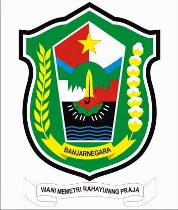 koleksi lambang dan logo desain kaos distro batik koleksi lambang dan logo lambang kabupaten banjarnegara