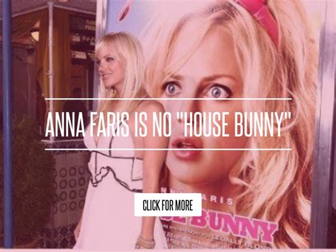 Faris Is No House Bunny faris is no quot house bunny quot