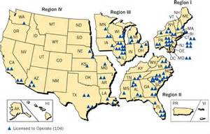 map of us nuclear plants nuclear power in the united states