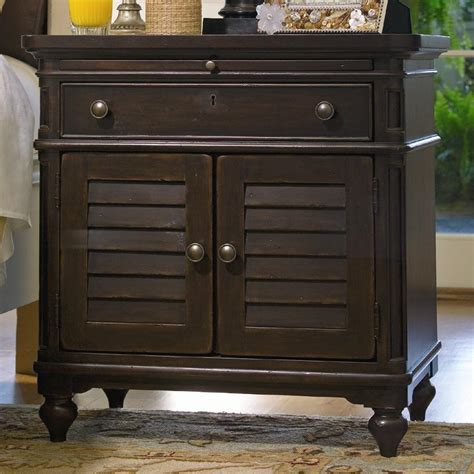 Paula Deen Furniture Dealers by Paula Deen By Universal Home Louvered Door Nightstand With