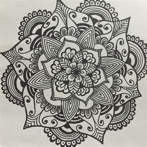 mandala flower doodles pinterest mandala tattoo