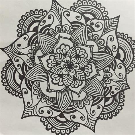 flower pattern mandala mandala flower doodles pinterest mandala flower