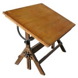 Ergonomic Drafting Table Vintage Hamilton Oak And Maple Adjustable Drafting Table At 1stdibs