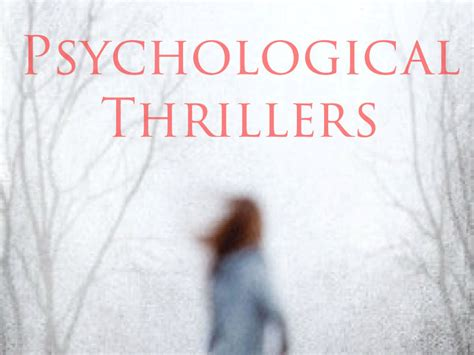 best psychological thrillers the best psychological thriller books of all time book