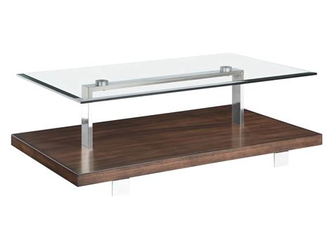 modern loft magnussen collection t3509 coffee table set