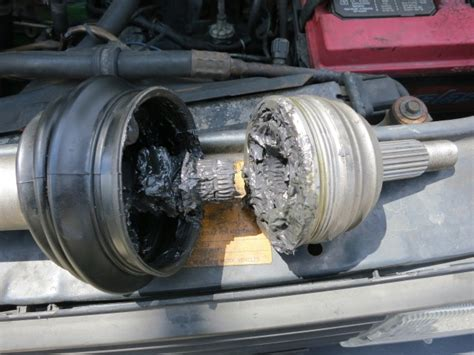 cv axle fail torn boots slight clicking vwdieselparts