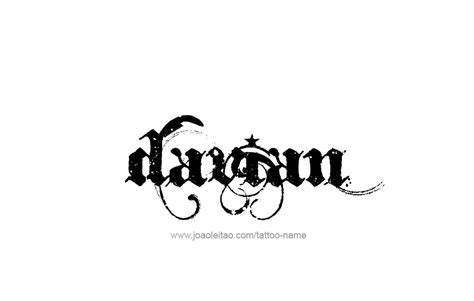 davians tattoo davian name designs