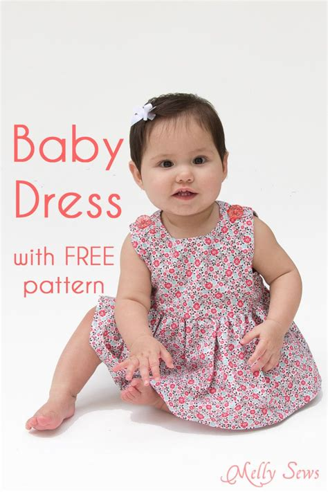 in dress for baby sew a baby dress with free pattern patrones baby dress