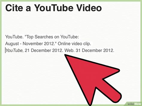 apa format video clip 3 formas de citar un video de youtube wikihow