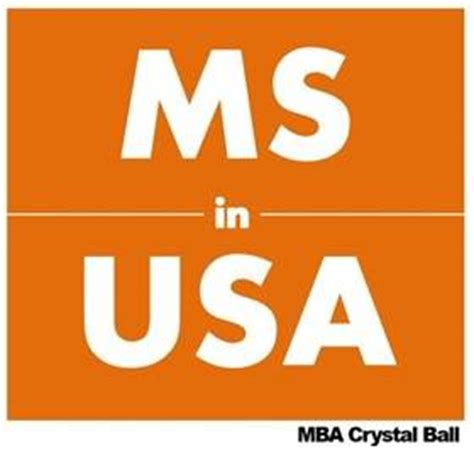 After Mba What To Study In Usa by Mis In Us Top Ranking Universities With Average Gre