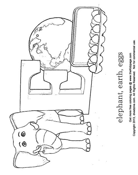 E Coloring Page Printable by Letter E Coloring Pages To And Print For Free