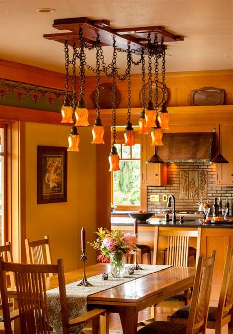 Gamble On Design California Fashion Chandeliers And Room Craftsman Style Lighting Dining Room