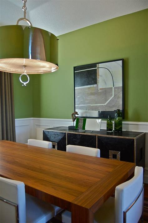 Houzz Green Dining Room Green Interior Ideas For Your Home