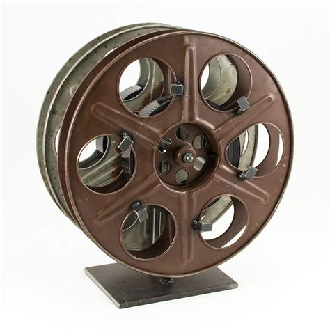 Home Movie Theater Wall Decor by Vintage Film Reel Wine Rack The Green Head