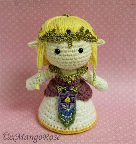 crochet pattern zelda xmangorose princess zelda amigurumi crochet doll