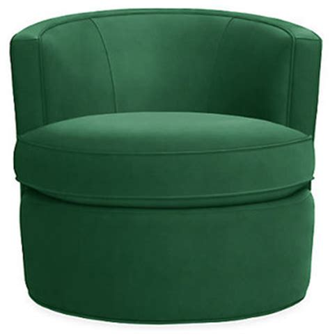 room and board swivel chair otis swivel chair emerald modern armchairs and accent chairs by room board
