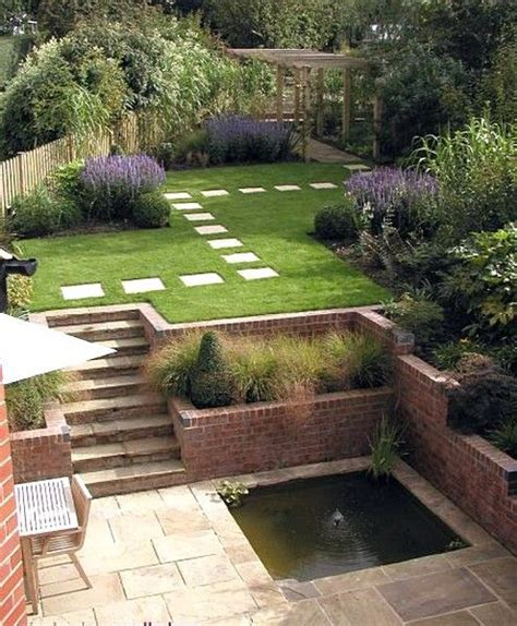 25 unique sloped garden ideas on sloping