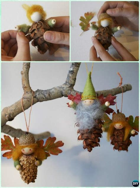 pine cone craft projects diy pine cone craft ideas projects picture