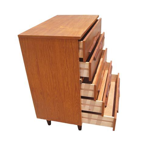 vintage mid century modern teak dresser mr11985 ebay