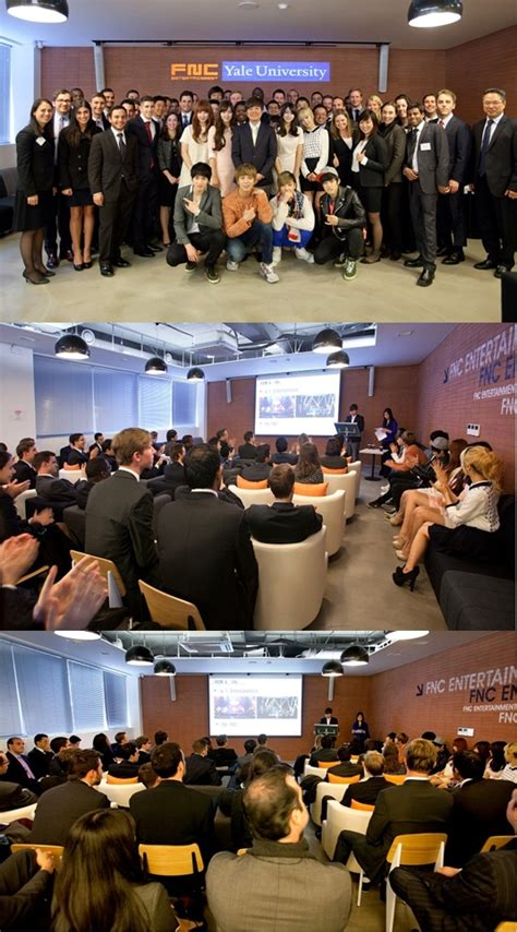 Mba Program At Yale by Ask K Pop Mba Students From Yale Visit Fnc