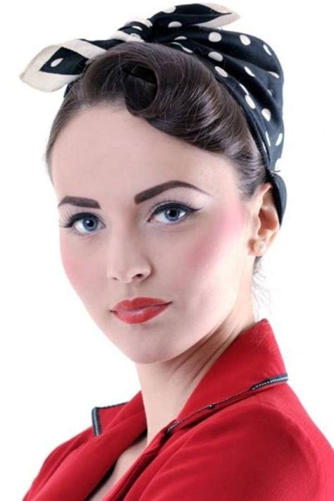 girl hairstyles with bandana bandana pin up girl hairstyles for long hair a quot hairy