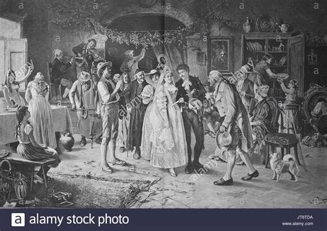 Hochzeit 18 Jahrhundert by 18th Century Woodcut Stock Photos 18th Century Woodcut