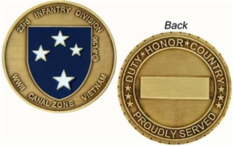 challenge coin size 23rd division challenge coin size 1 1 2 quot