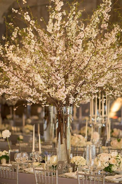 cherry blossom arrangements best 25 cherry blossom centerpiece ideas on pinterest