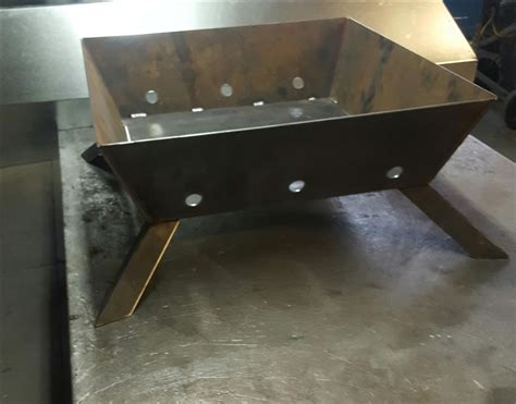 buy  hand  custom square fire pit   order