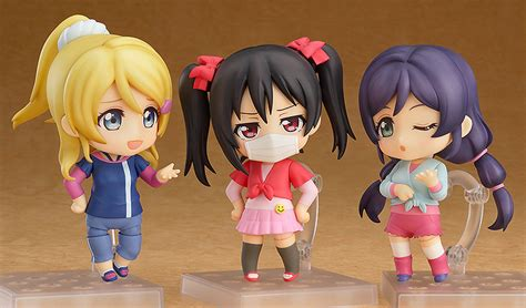 Nendoroid Yazawa Nico smile announces pre orders for live figma and