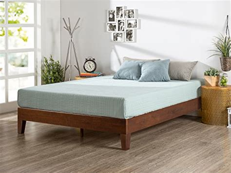 do you need a bed frame zinus 12 inch deluxe wood platform bed no boxspring