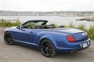 2012 Bentley Convertible 2012 Bentley Continental Supersports Convertible