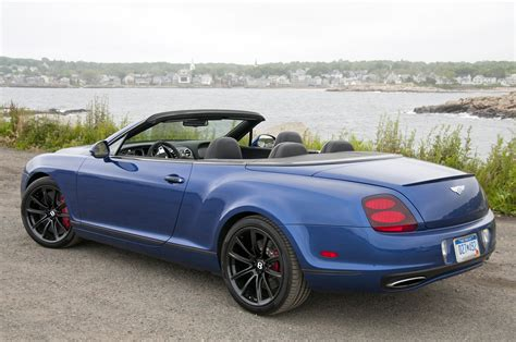 bentley supercar 2012 bentley continental supersports convertible