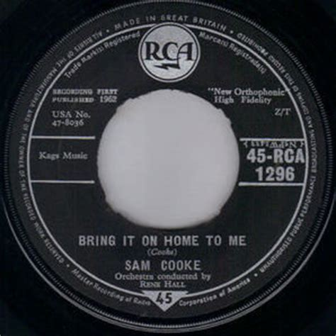 sam cooke bring it on home to me tracks gaslight records