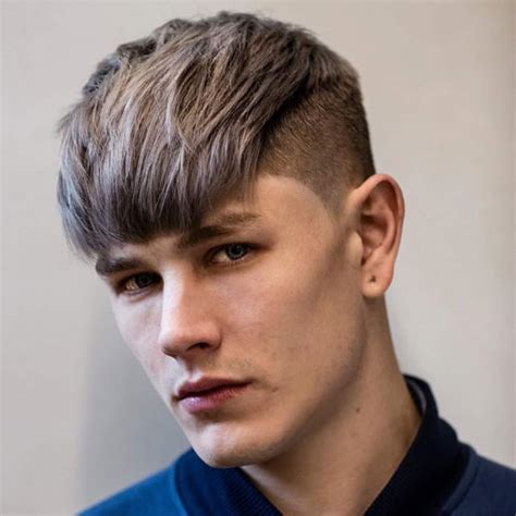guys hairstyles with fringe men s fringe hairstyles bangs for men