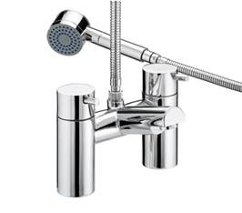 bristan prism thermostatic bath shower mixer pm thbsm c