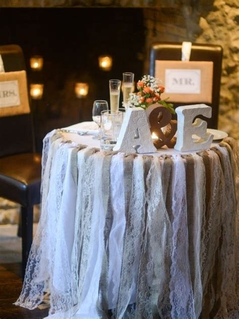 using galvanized containers in vintage shabby chic wedding