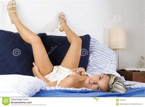 laying down in bed laying down royalty free stock images image 4762149