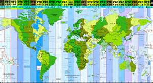 Map With Time Zones by A Brief History Of Time Zones Or Why Do We Keep Changing