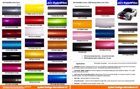 ford vehicle color chart pictures to pin on pinsdaddy