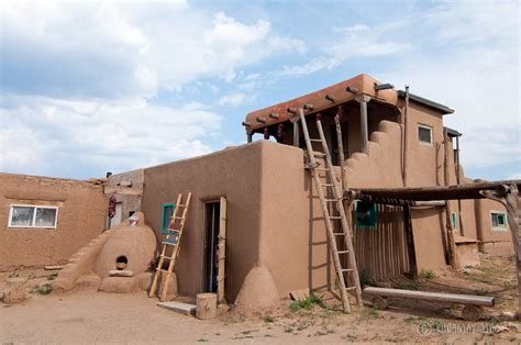 adobe homes taos pueblo and a thousand year old adobe architecture