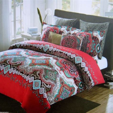 max studio moroccan medallion 6 piece king comforter set