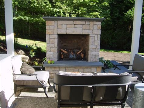 outdoor fireplace kirkland wa photo gallery