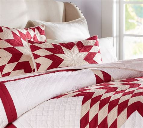 Potterybarn Quilts by Starburst Patchwork Quilt Sham Pottery Barn