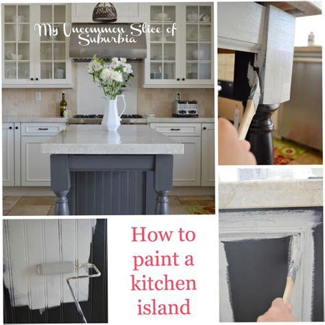 paint colors for kitchen island painted kitchen island