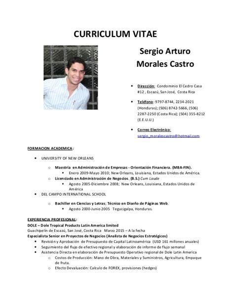Modelo Curriculum Vitae Profesional Doc curriculum vitae doc