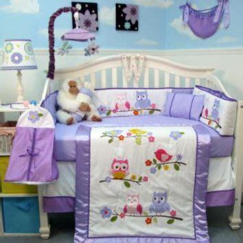 Kiddy Baby Set Owl Pink best crib nursery bedding products on wanelo